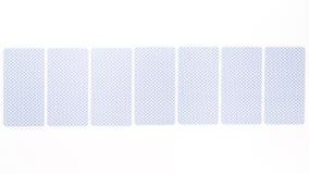Carta di tarocchi posteriore immagine stock