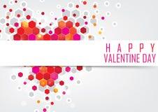 Carta di Valentine Greeting royalty illustrazione gratis