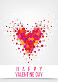Carta di Valentine Greeting illustrazione vettoriale