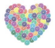 Carta di Valentine Greeting illustrazione vettoriale