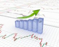 Carta, diagrama Foto de Stock Royalty Free