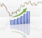 Carta, diagrama Fotografia de Stock
