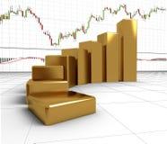 Carta, diagrama Fotos de Stock Royalty Free