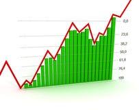 Carta, diagrama (número de Fibonacci) Imagem de Stock Royalty Free