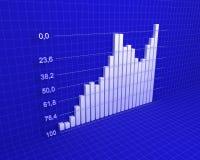 Carta, diagrama (número de Fibonacci) Imagens de Stock Royalty Free
