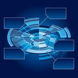 Carta do círculo Imagens de Stock