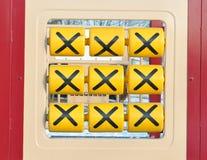 Carta do jogo dos miúdos Fotos de Stock