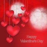 Carta felice di giorno di biglietti di S. Valentino nuova Fotografia Stock Libera da Diritti