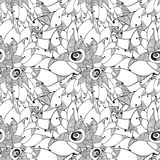 Carta floreale grafica Fotografie Stock