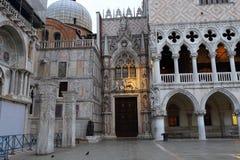 Carta Gate,Porta della Carta, San Marco square, Stock Photo