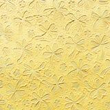 Carta gialla del gelso Carta di Saa Fiore Fotografia Stock Libera da Diritti