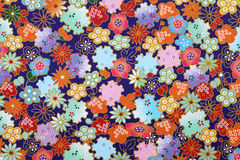 Carta giapponese di origami del modello Fotografia Stock