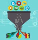 Carta grande de los datos libre illustration