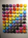 Carta igienica Colourful Fotografia Stock Libera da Diritti