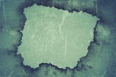 Carta incorniciata grungy blu scuro Fotografia Stock Libera da Diritti