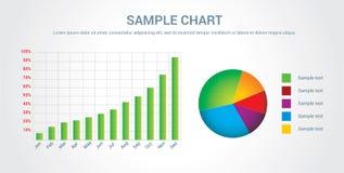 Carta/infographic coloridos Fotos de Stock Royalty Free