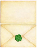 Carta irlandesa de la suerte Imagen de archivo