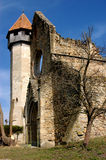 carta kyrkliga cistercian gammala transylvania Royaltyfria Foton
