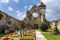 Carta, la abadía cisterciense arruinada vieja Imágenes de archivo libres de regalías
