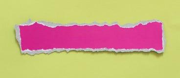 Carta lacerata dello strappo immagini stock libere da diritti