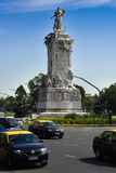 Carta Magna Statue in Buenos aires Royalty-vrije Stock Foto's