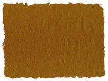 Carta marrone dello strappo Fotografie Stock