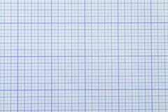 Carta millimetrata Fotografia Stock