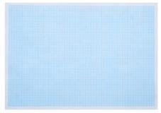 Carta millimetrata blu fotografia stock libera da diritti
