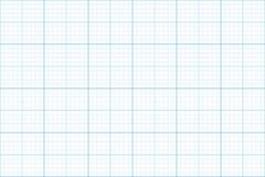 Carta millimetrata Reticolo senza giunte backgound dell'architetto griglia di millimetro Vettore royalty illustrazione gratis