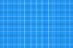 Carta millimetrata Reticolo senza giunte backgound dell'architetto griglia di millimetro Vettore illustrazione di stock
