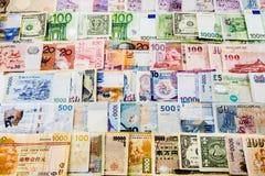 Carta moneta Fotografia Stock Libera da Diritti