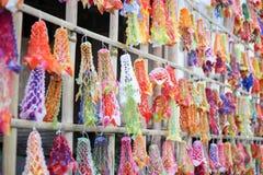 Carta multicolore della nappa fotografia stock