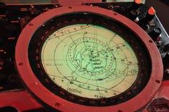 Carta náutica Imagens de Stock