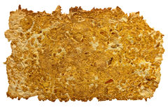 Carta naturale delle arance isolata Fotografia Stock