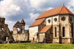 Carta, the old ruined cistercian abbey. Carta, Romania The old ruined cistercian abbey from Transylvania Stock Image