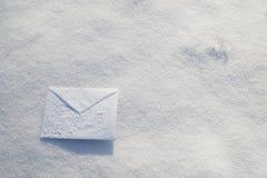 carta Para la Navidad, días de fiesta del Año Nuevo Fotos de archivo libres de regalías