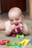 Carta penetrante del bebé Fotografía de archivo libre de regalías