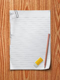 Carta per appunti Immagini Stock