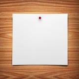 Carta per appunti Fotografia Stock