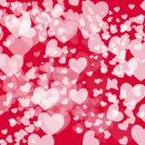 Carta per Valentine& x27; giorno di s immagini stock