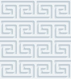 Carta perforata bianca Fotografie Stock Libere da Diritti