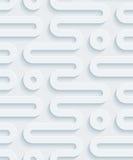 Carta perforata bianca Fotografie Stock