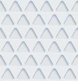 Carta perforata bianca Immagini Stock