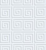Carta perforata bianca Immagine Stock Libera da Diritti