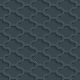 Carta perforata scura Immagine Stock