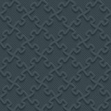 Carta perforata scura Immagini Stock