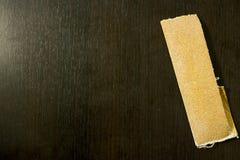 Carta piegata della sabbia Fotografie Stock