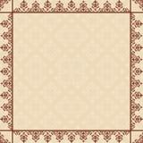 Carta quadratica con la struttura d'annata Royalty Illustrazione gratis