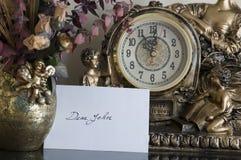 Carta querida de Juan Fotografía de archivo libre de regalías