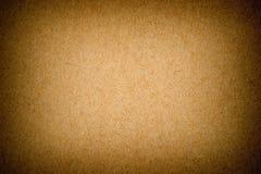 Carta riciclata strutturata lerciume con le parti di fibra tessile naturale Fotografia Stock